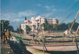 AFRIQUE---DJIBOUTI---palais Du Gouvernement--voir 2 Scans - Djibouti