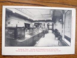 Cpa   Banque Credit Lyonnais Garde Des Titres  Location Coffre Forts Bar Le Duc Saint Dizier - Advertising