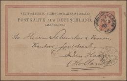 Postkarte P 8II/02 Adler 10 Pfennig Von HOMBURG V.v. HÖHE 23.8.80 Nach Holland - Deutschland