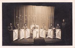 Bb - Carte Photo Orchestre JP (Autriche, Wien) (Orchestre De Jazz DEMOUSTIER, Stalag 232) - Music And Musicians