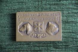 Médaille Société Canine Du Languedoc - Chasse Voir Verso- 1er Prix, Exposition De NIMES,3 Et 4 Juin 1939 - Professionnels / De Société