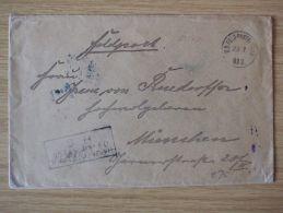 CHINA, 1901, FELDPOST-BELEG Des BOXERAUFSTANDS - Ufficio: Cina