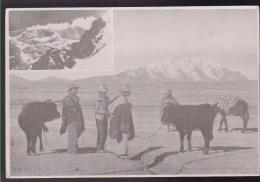 CARTOLINA CAI SPEDIZIONE ALPINISTICA ILLIMANI '70 M. 6470 CORDILLERA REAL BOLIVIA CON AUTOGRAFO - Alpinismo