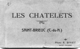 22 - SAINT BRIEUC - Carnet De 20 Vues, Complet: Les CHATELETS - Studio R.Binet - Saint-Brieuc