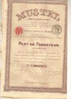 MUSTEL  ORGANIER  D'ART  1922 - Mines