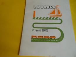 Plaquette Souvenir/Menu-Programme/Banquet De Cloture Conseil National De La FNTR/Hermitage Hotel/LA  BAULE/1975  MENU175 - Menus