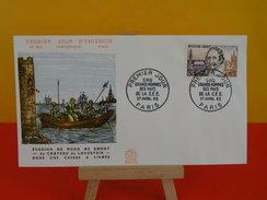 FDC-  Hugo De Groot - Paris  - 27.3.1963 - 1er Jour, Coté 2 € - FDC
