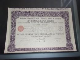 COMPAGNIE PARISIENNE D'ENTREPRISES (imprimerie RICHARD) - Ohne Zuordnung