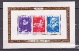1949 Blok 27** Postfris Zonder Scharnier.Jordaens.OBP 190 Euro. - Blocks & Sheetlets 1924-1960