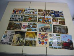 Un Lot De 18 Cartes De BOURGOGNE :Vendanges, Caves,pressoir, Blasons,etc... - Bourgogne