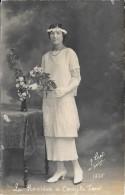 Carte Photo - La Rosière De Cercy La Tour . Studio Licot Decize 1925 - Altri Comuni
