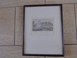 Postel Mol Door Onduidelijk Gesigneerd 1967 - Dessins