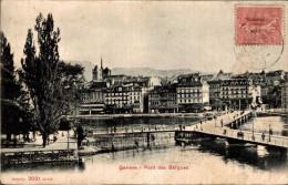 SUISSE  GENEVE PONT DES BERGUES - GE Genève