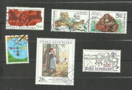 République Tchèque N°254, 283, 284, 289, 292, 297 Cote 3.80 Euros - Czech Republic