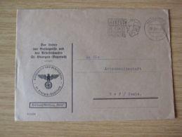 19.03.1941, DIENSTBELEG Des LEITERS DER GEFÄNGNISSE UND DES ARBEITSHAUSES St. GEORGEN - BAYREUTH, RICHARD-WAGNER-AFS - Briefe U. Dokumente
