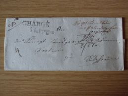 03.12.1818, CHARGÉ-BELEG Mit R3-STEMPEL Von BAMBERG - [1] Precursores