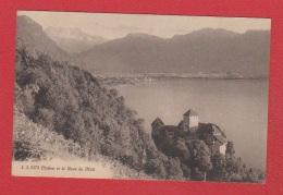 Chillon Et La Dent Du Midi - VD Vaud