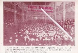 Théâtre Tchantchès - Les Célèbres Marionnettes Liègeoises - Voir Les 2 Scans - Liege