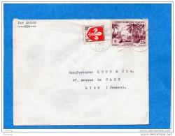 MARCOPHILIE-lettre Guerre Algérie-cad 1959-poste Aux Arméees Affrant Mixte- P A- T P Français+AOF-pour Françe - Marcophilie (Lettres)