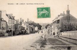 1806. CPA 14 LISIEUX. SAINT DESIR. ENTREE DE LA VILLE - Lisieux