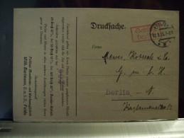 DR Infla Gebühr Bezahlt Drucksache Aus Fulda Nach Berlin 12.9.23 - Briefe U. Dokumente