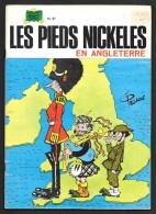 Les PIEDS NICKELES N°27 : En Angleterre - Réimpression 1986 - Très Bon état - Pieds Nickelés, Les