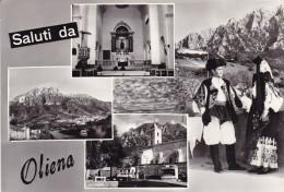 Saluti Da Oliena Viaggiata Nel 1969 - Italy