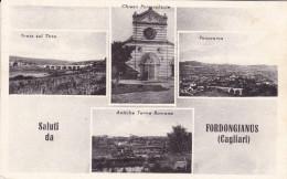 Saluti Da Fordongianus Viaggiata Nel 1956 - Otras Ciudades