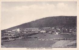 San Basilio (Cagliari) - Panorama Viaggiata Nel 1959 - Altre Città
