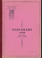 LIVRE Belgique - MARCORAMA 1990 2de Deel - Belgie 1946/1986 , Par W. Van Riet , 155 P. - TB Etat  --  15/286 - Philatélie Et Histoire Postale