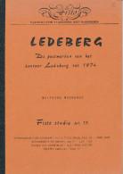 LIVRE Belgique - Postmerken Van LEDEBERG Tot 1974 , Par Maenhout , 32 P. , 1988 -  TB Etat --  15/290 - Philatelie Und Postgeschichte