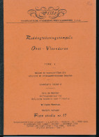LIVRE Belgique - Raddagtekeningstempels OOST VLAANDEREN , Letter A , 97 P. , 1988 -  TB Etat  --  15/291 - Philatelie Und Postgeschichte