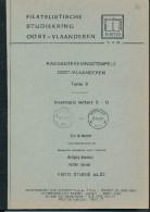LIVRE Belgique - Raddagtekeningstempels OOST VLAANDEREN , Letter B-D , 90 P. , 1990 -  TB Etat  --  15/292 - Philatélie Et Histoire Postale