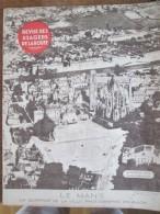 1934  REVUE DES USAGERS DE LA ROUTE - LE MANS  CARTE DE LA SARTHE  1 - Livres, BD, Revues