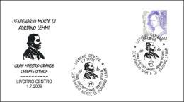 ADRIANO LEMMI. Gran Maestro Gran Oriente De Italia. Livorno 2006 - Freemasonry