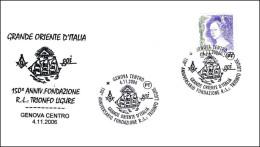 150 Aniversario LOGIA TRIONFO LIGURE. Genova 2006 - Franc-Maçonnerie