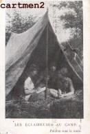 LES ECLAIREUSES AU CAMP ECLAIREURS DE FRANCE SCOUT SCOUTISME ECLAIREUR - Scoutisme