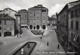 Asti - Piazza Statuto E Palazzo Assicurazioni. - Asti
