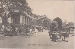 CEYLAN - Colombo - Palais De Justice - Attelage - Sri Lanka (Ceylon)