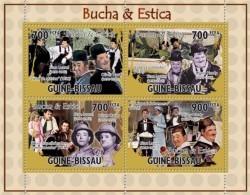 Guinea Bissau 2010, Cinema, Buch & Estica, 4val In BF - Acteurs