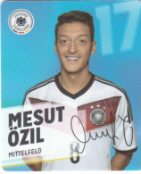 Rewe Coupe Du Monde World Cup 2014 - N° 17 MESUT OZIL - Sonstige