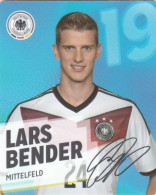Rewe Coupe Du Monde World Cup 2014 - N° 19 LARS BENDER - Andere Sammlungen