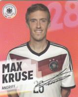 Rewe Coupe Du Monde World Cup 2014 - N° 28 MAX KRUSE - Andere Sammlungen