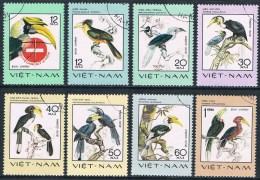 Vietnam - Oiseaux Rares 40/47 Oblit. - Birds