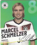 Rewe Coupe Du Monde World Cup 2014 - N° 8 MARCEL SCHMELZER - Andere Sammlungen