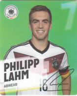 Rewe Coupe Du Monde World Cup 2014 - N° 7 PHILIPP LAHM - Andere Sammlungen