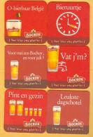 6 S/b Bière Bockor - Sous-bocks