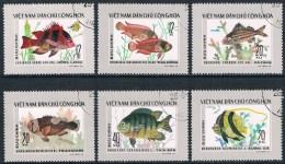 Vietnam - Poissons 16/23 Oblit. - Fishes
