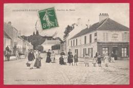 CPA Brie Comte Robert - A La Barrière Du Maine - Brie Comte Robert