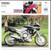 1991 - FICHE TECHNIQUE MOTO - DÉTAIL COMPLET À L´ENDOS - YAMAHA 850 TDM - TOURING - JAPAN - Motos
